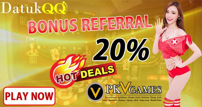 Promo bonus poker qq online